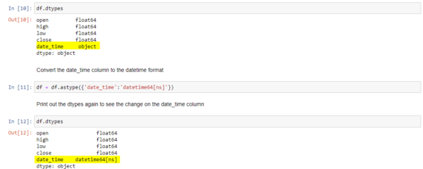 Convert the date_time format in Python